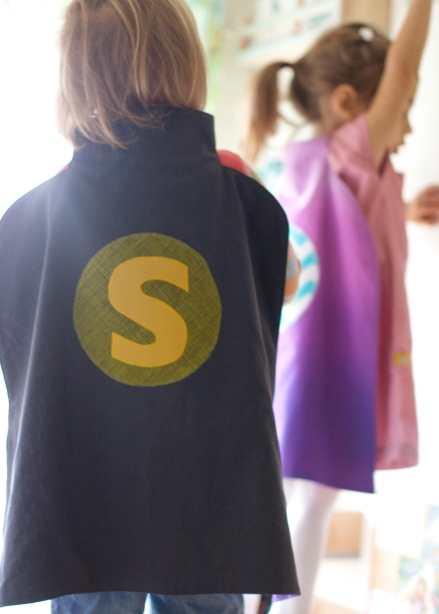super hero cape tutorial // skirt as top